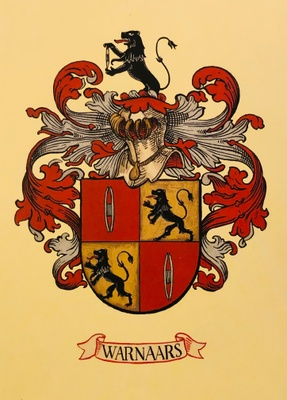 Warnaars Family Crest