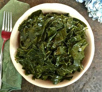 These are Collard Greens