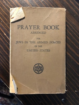 WWII Army Prayer Book for Jewish Soldier