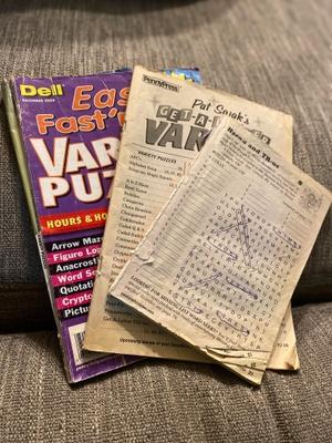 Crossword Puzzles( Family Bonding)