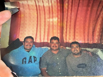 This is my dad and my uncles.