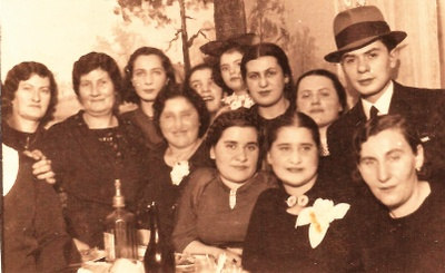 GreatGrandmother seated second from rigt
