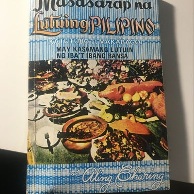 Picture of the cookbooks cover.