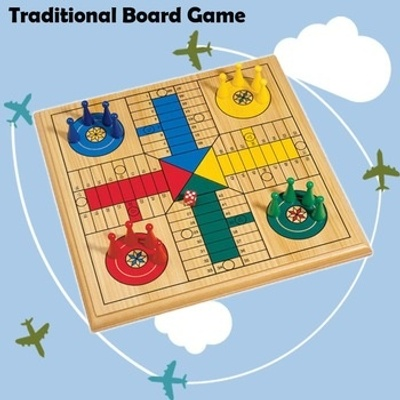 Original-like Ludo board game.