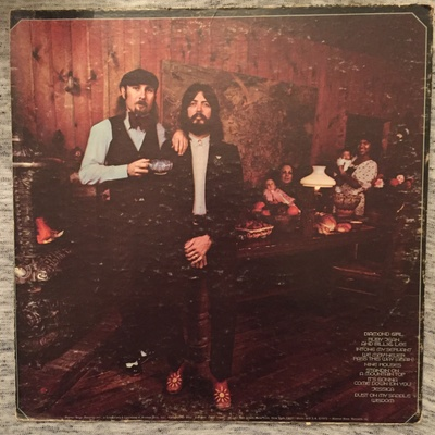 Diamond Girl, Seals &Crofts- Back Cover
