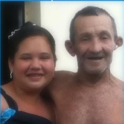 My grandpa and me.