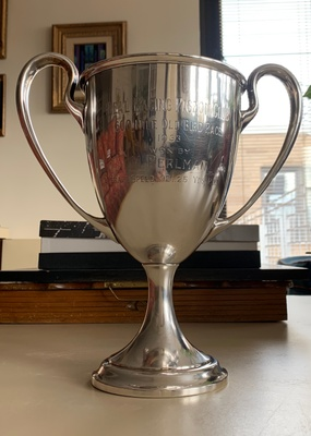 This is the sterling silver trophy