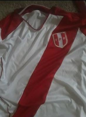 Peruvian soccer jersey