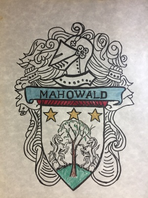 "Mahowald means ""High Forest"""