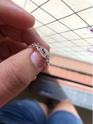The ring I received for my quinceañera.