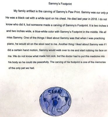 Family Artifact Paragraph